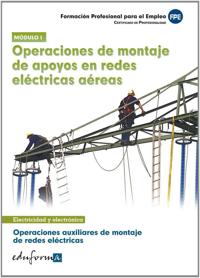 Operaciones auxiliares montaje de redes electricas 1 cp
