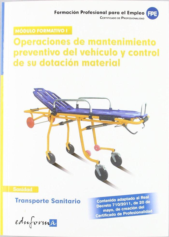 Transporte sanitario operaciones mantenimiento preventibo