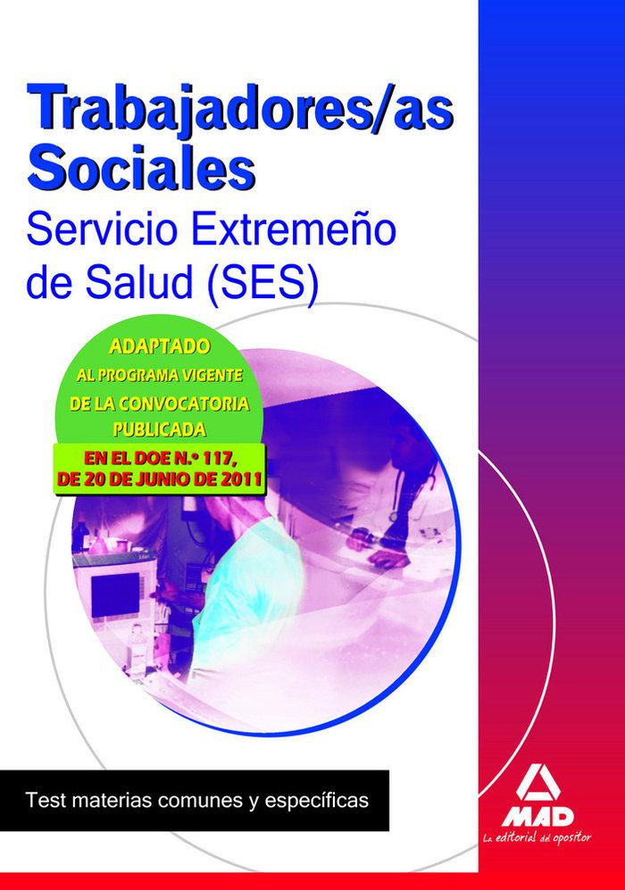 Trabajadores sociales ses 11 test materias comunes y especif