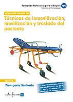 Transporte sanitario tecnica de inmabilizacion