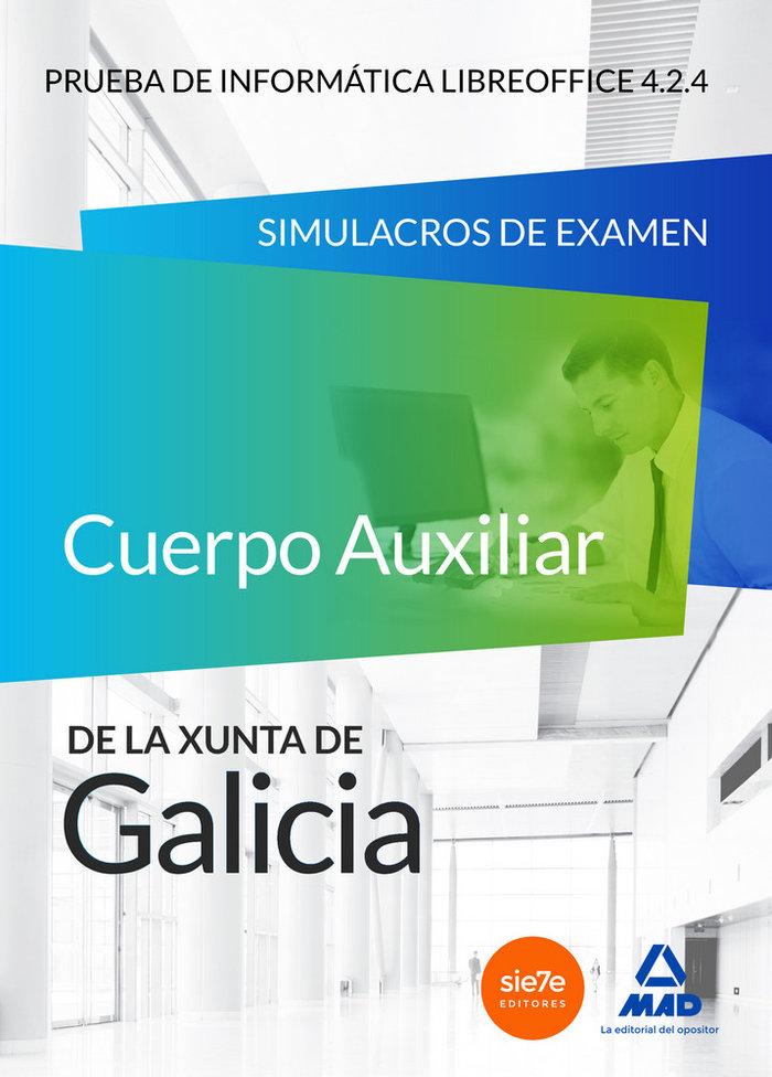 Cuerpo auxiliar de la xunta de galicia. prueba de informatic