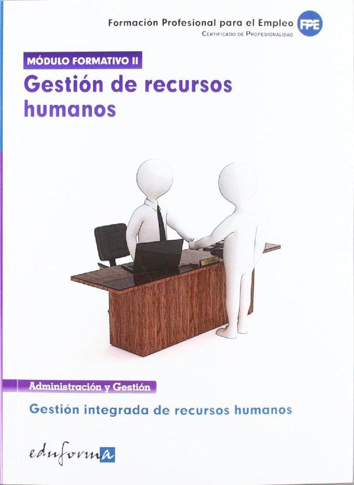 Gestion recursos humanos modulo f.ii. certificado orifesion