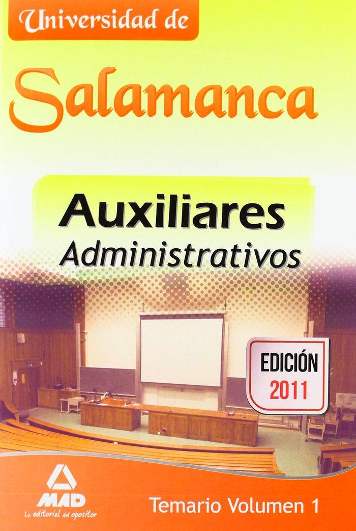Temario 1 ausiliares administrativos universidad de salaman