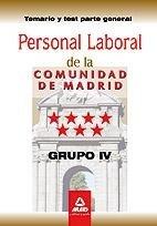 Personal laboral grupo iv madrid