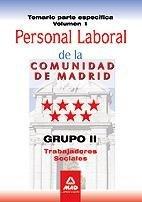 Trabajadores sociales, personal laboral, grupo ii, comunidad