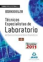 Tecnicos especialistas de laboratorio, servicio vasco de sal