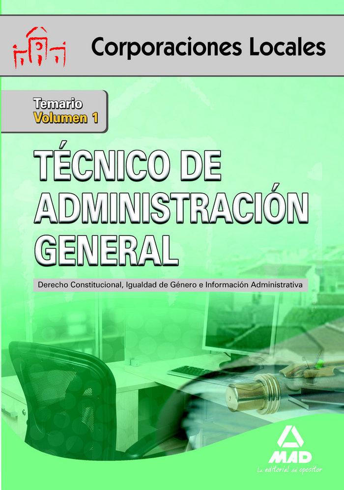 Tecnico de administracion general temario 1 corporaciones