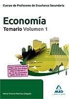 Cuerpo de profesores de enseñanza secundaria, economia. tema