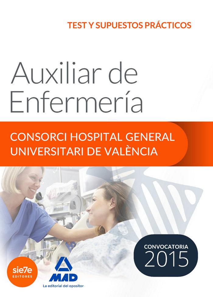 Auxiliar enfermeria consorci hospital general univer test s