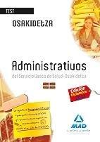 Administrativos servicio vasco de salud-o