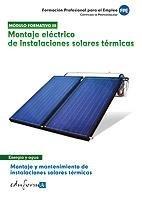 Montaje electrico instalaciones solares termicas cf