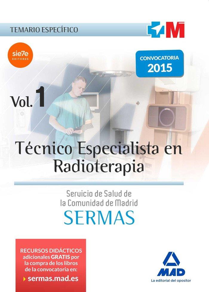 tecnico especialista en radioterapia del servicio de salud