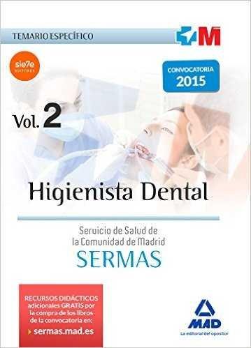 Higienista dental del servicio de salud de la comunidad de m