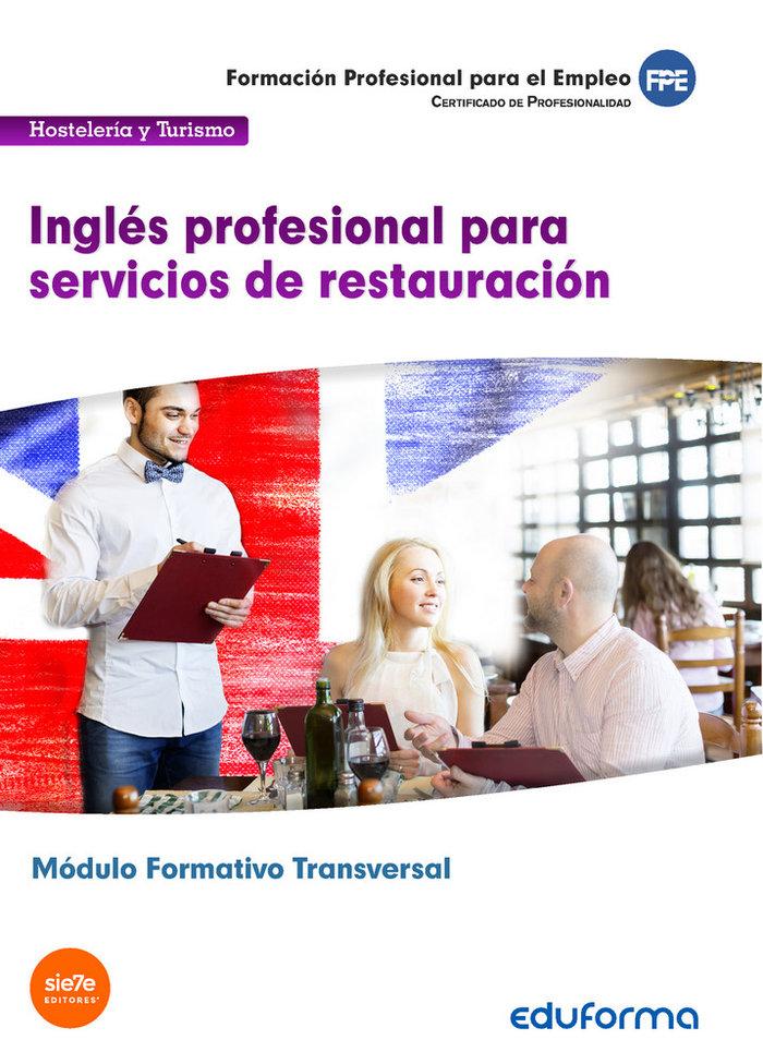 Mf1051 (transversal) ingles profesional para servicios de re
