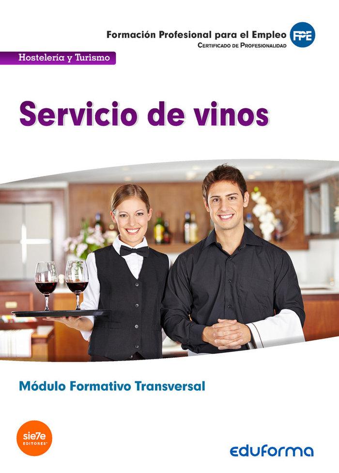 (transversal) servicio de vinos. familia profesional hostele