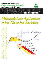 Matematicas especifica universidad para mayores andalucia