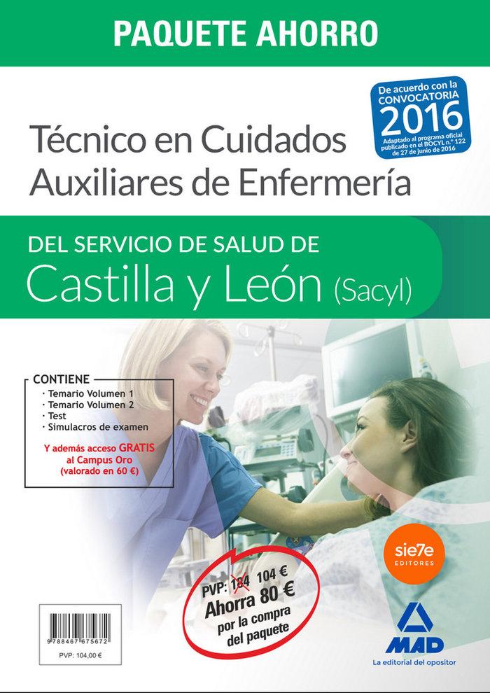 Paquete ahorro  tecnico en cuidados auxiliares en enfermeria