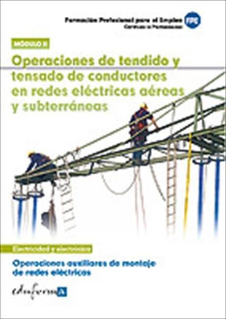 Operaciones auxiliares montaje de redes electricas 2 cp