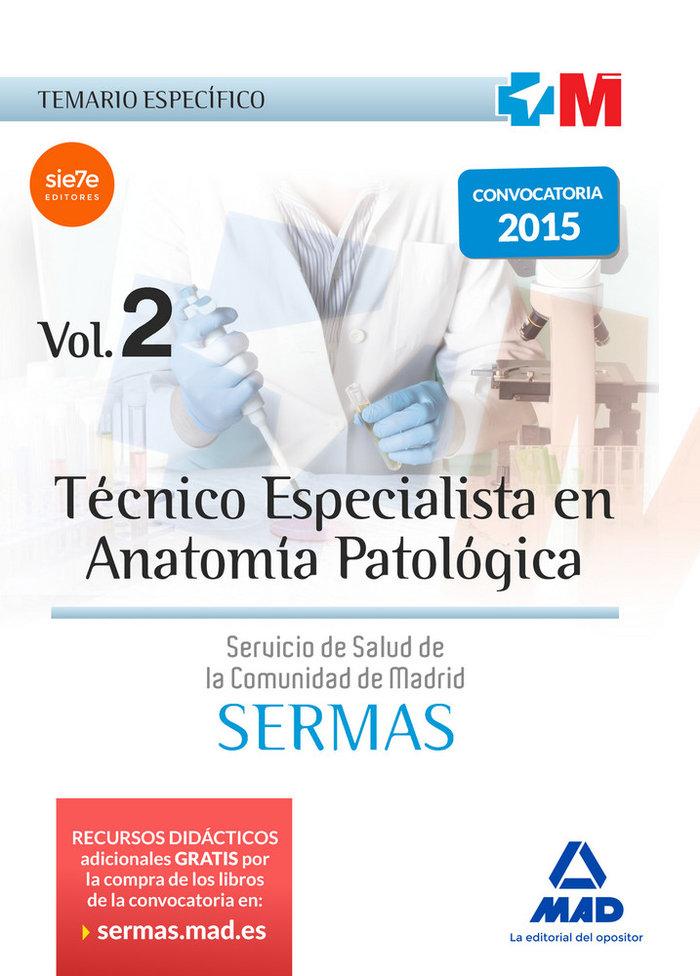 Tecnico especialista en anatomia patologica del servicio de