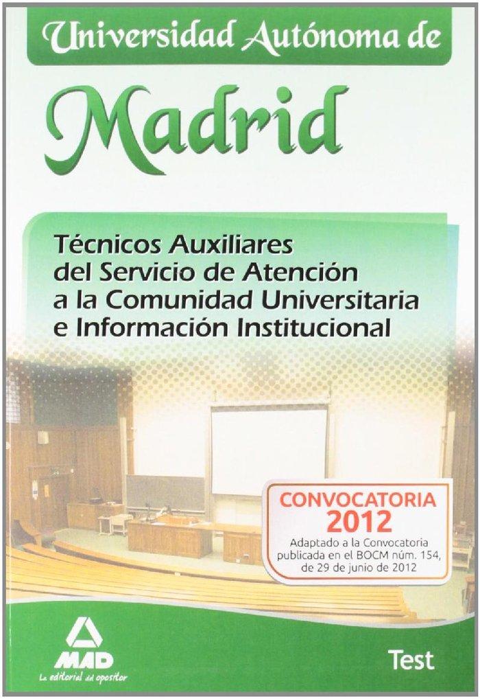 Tecnicos auxiliares del servicio de atencion a la comunidad