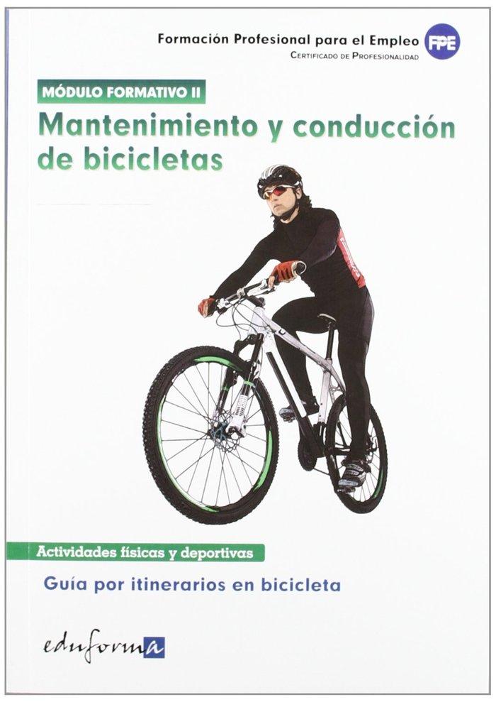 Mantenimiento y conduccion de bicicletas