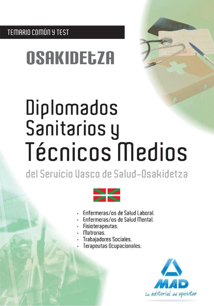 Diplomados sanitarios y tecnicos medios s