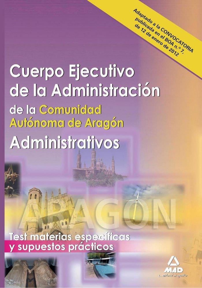 Administrativos, cuerpo ejecutivo de la administracion, comu