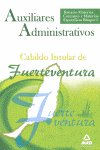 Auxiliares administrativos cabildo insula