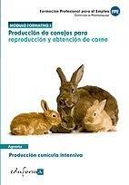 Produccion de conejos para reproduccion y obtencion de carne