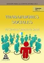 Trabajadores sociales, servicio canario de salud. temario