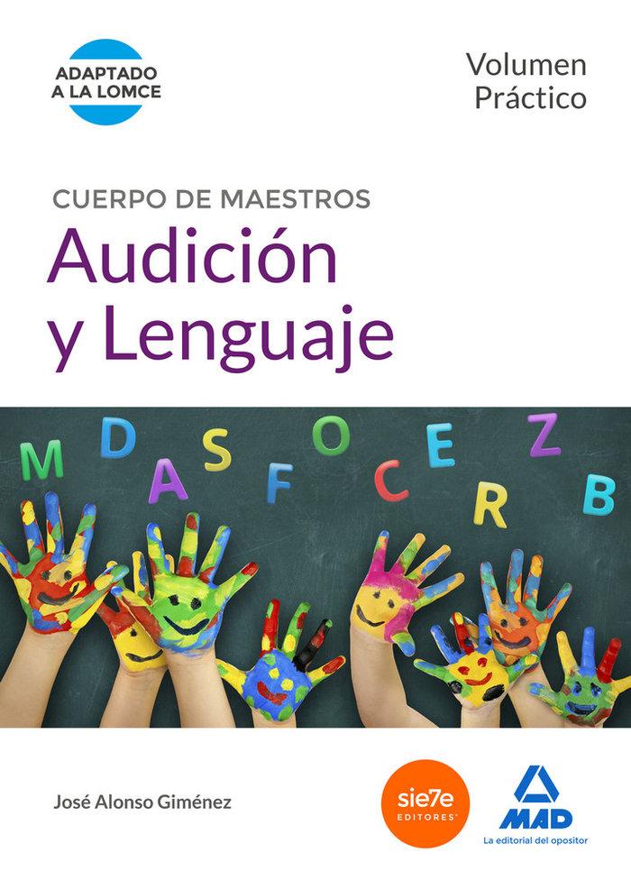 Cuerpo maestros audicion y lenguaje volumen practico