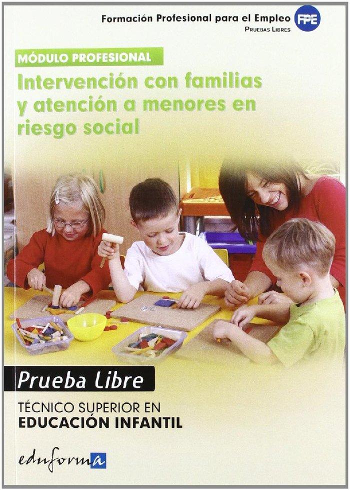 Intervencion con familias y atencion a menores en riesgo soc