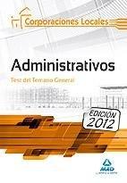Administrativos corporaciones locales test t.general 2012
