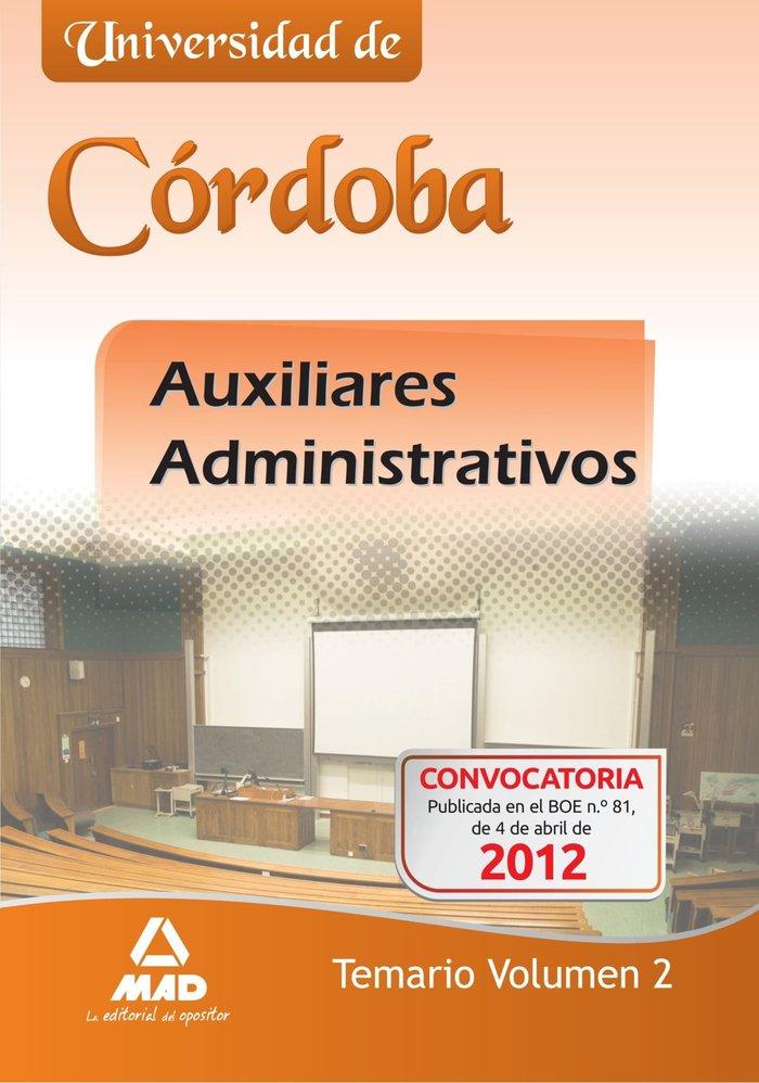 Auxiliares administrativos universidad de