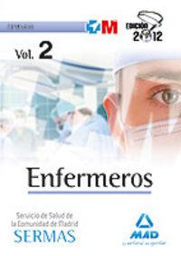 Enfermeras/os del servicio madrileño de salud. temario espe