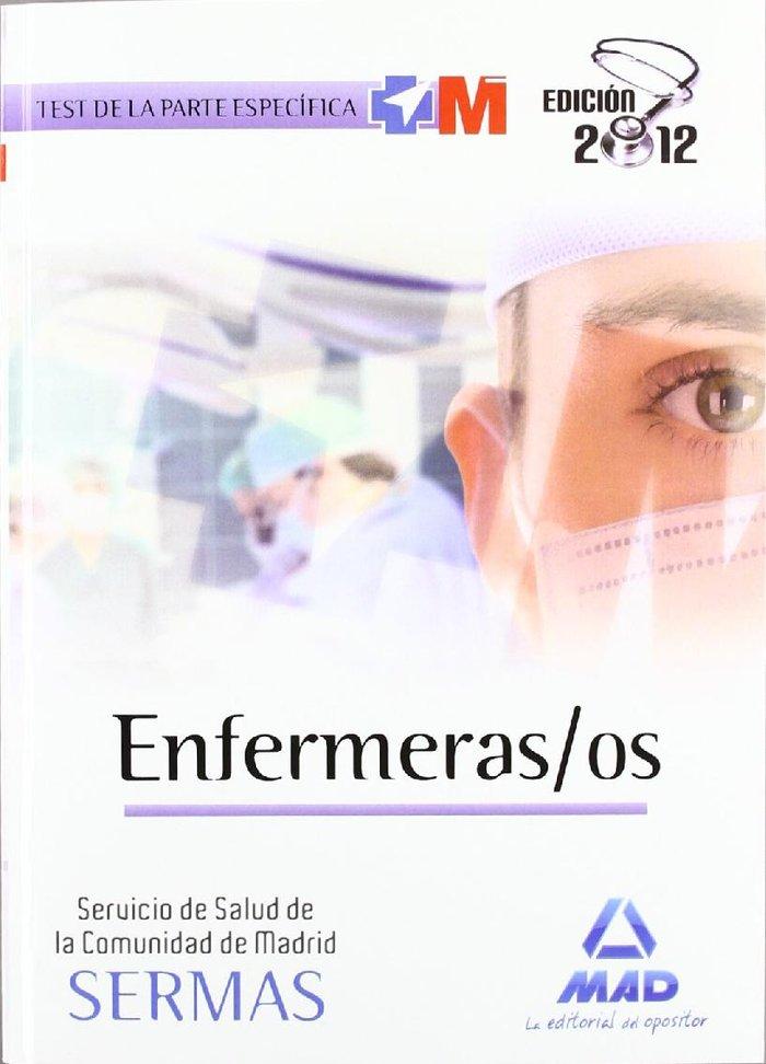 Enfermeras-os servicio madrileño de salud