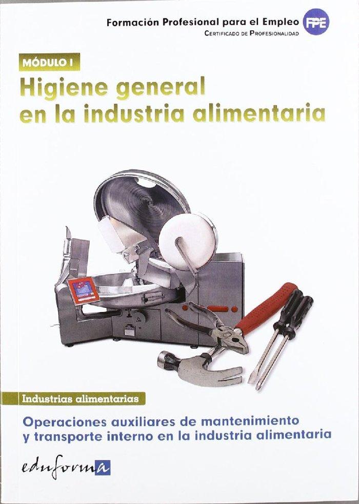 Higiene general en la industria alimentaria modulo 1 cp