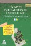 Tecnicos especialistas en laboratorio, servicio canario de s