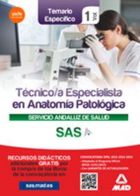 Tecnico especialistas en anatomia patologica sas vol 1
