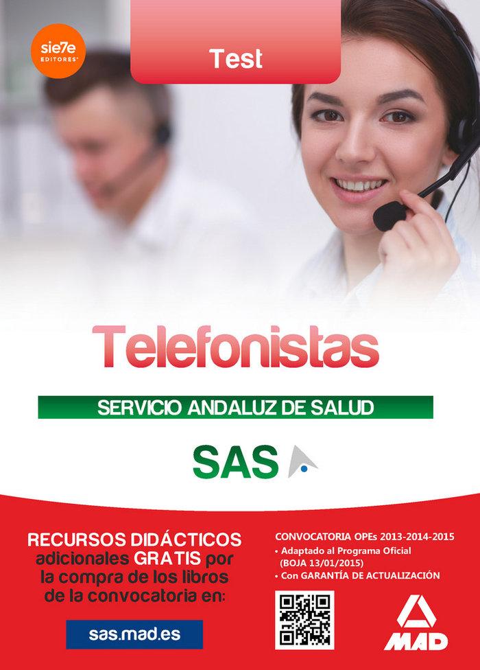 Telefonistas del servicio andaluz de salud test