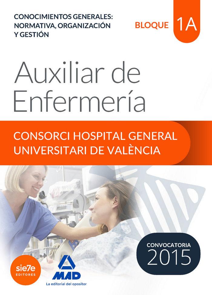 Auxiliar de enfermeria del consorci hospital general univers