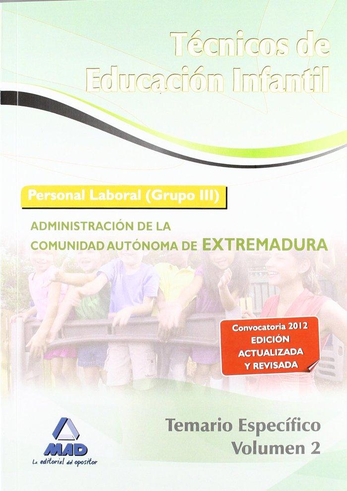 Tecnico educacion infantil 2012 tema.espe. ii