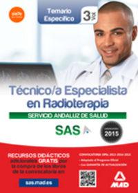 Tecnico especialistas en radioterapia sas vol 3