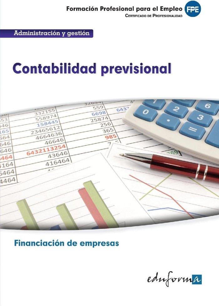Contabilidad previsional fpe financiacion de empresas