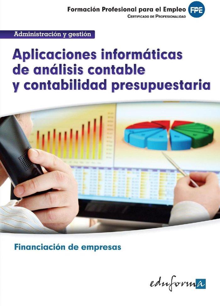 Aplicaciones informaticas analisis contable y contabilidad