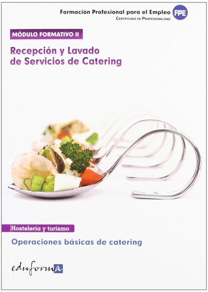 Recepcion y lavados de servicios de catering 2