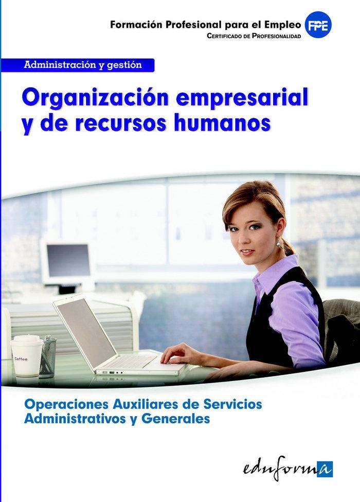 Organizacion empresarial y de recursos humanos