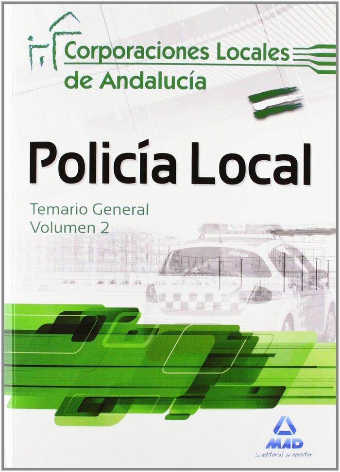 Policia local corporaciones locales andalucia temario 2