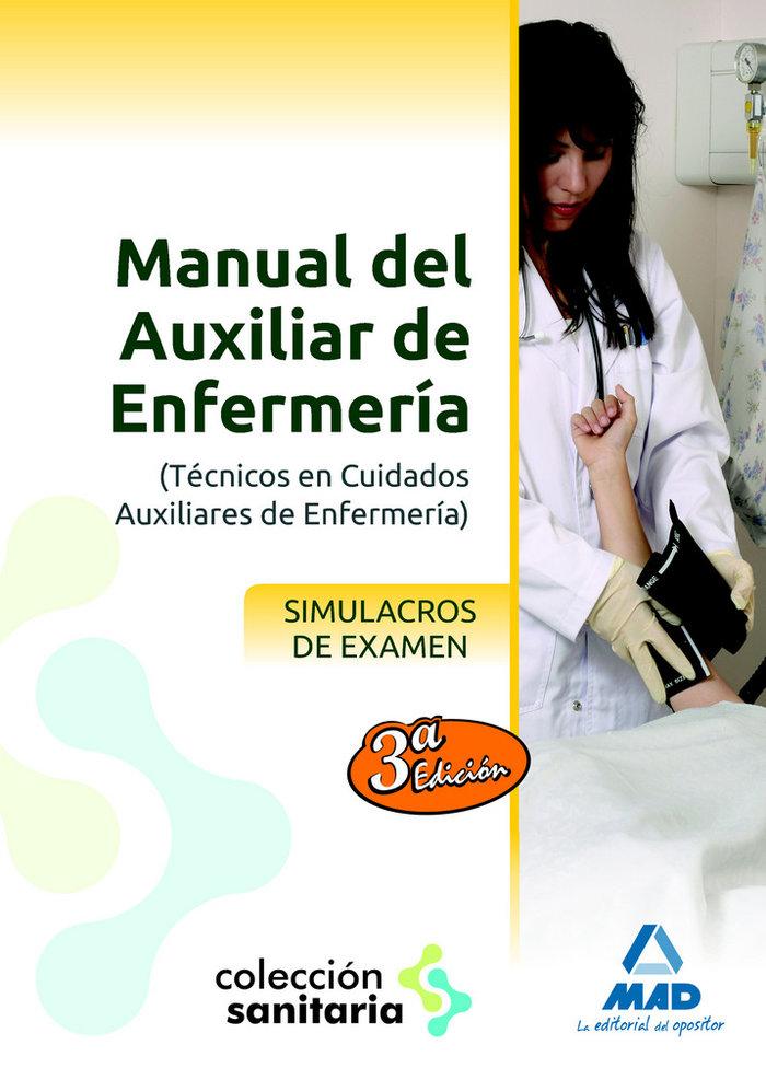Manual auxiliar enfermeria simulacros examen 3ªed