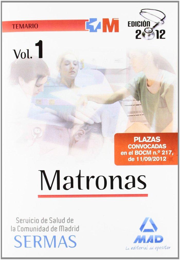 Matronas, servicio de salud de la comunidad de madrid. temar